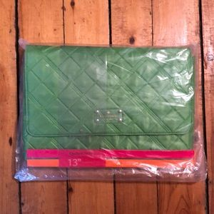 NWT Kate Spade Quilted Laptop Sleeve